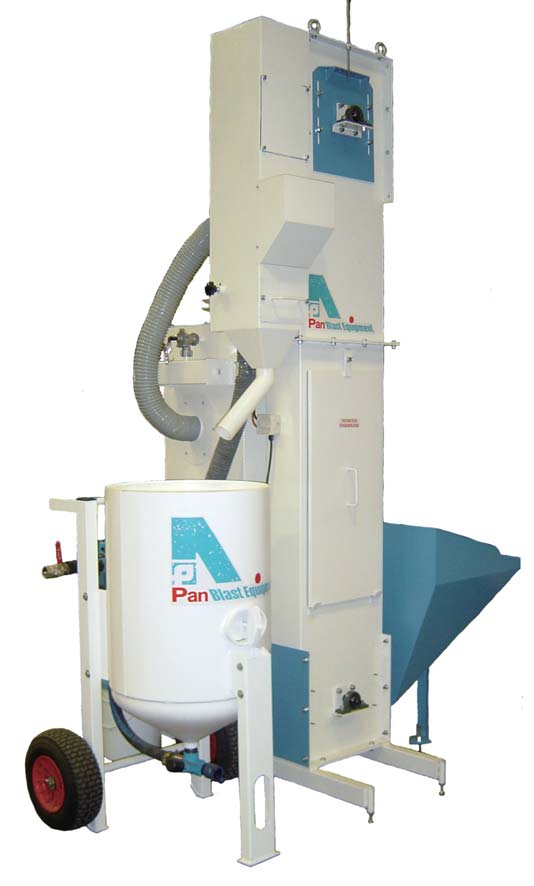 PanBlast Abrasive Recycling System (BRAND NEW)